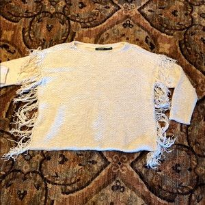 Great Lauren Ralph Lauren sweater with fringe